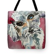 Two Bows Tote Bag