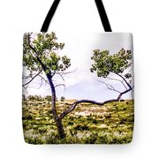 Two Branches Tote Bag