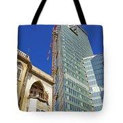 Two Buildings.. Tote Bag