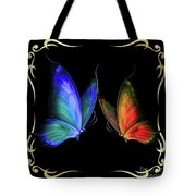 Two Butterflys -4 Tote Bag