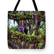 Two Buzzards In A Tree Tote Bag
