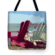 Two By The Shore Tote Bag