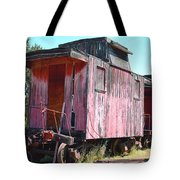 Two Caboose Tote Bag