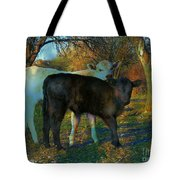 Two Calfs Tote Bag