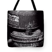 Two Cans - Bw Tote Bag