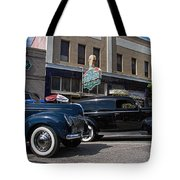 Two Cars Tote Bag