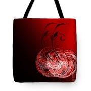 Two Cheery Cherries Tote Bag