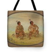Two Choctaw Indians Tote Bag