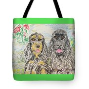 Two Cockers Tote Bag
