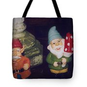 Two Colorful Dudes Tote Bag