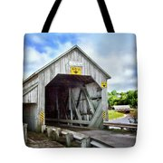 Two Covered Bridges Of St. Martins Tote Bag
