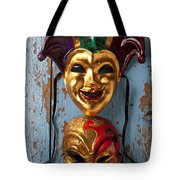Two Decortive Masks Tote Bag