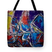 Two Entities Tote Bag