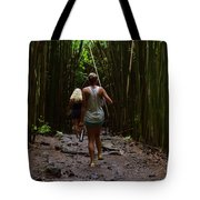 Two Explorers Tote Bag