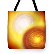 Two Fire-colored Stars Tote Bag