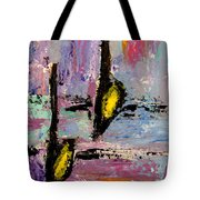 Two Flats Tote Bag by Anita Burgermeister