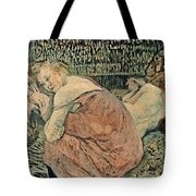 Two Friends 1895 Tote Bag