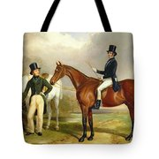 Two Gentlemen Out Hunting  Tote Bag