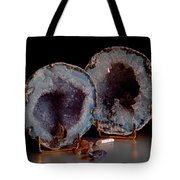 Two Geodes Tote Bag