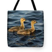 Two Goslings Tote Bag