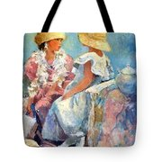 Two Hats Tote Bag