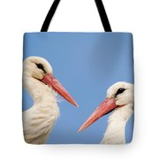 Two Heads Tote Bag