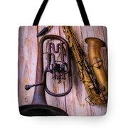 Two Horns Tote Bag