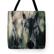 Two Horses In Greens Tote Bag