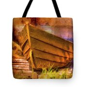 Two Idle Boats Tote Bag
