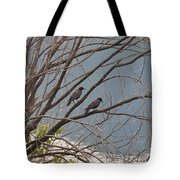Two If By Tree Tote Bag