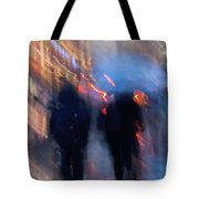Two In The Rain Tote Bag