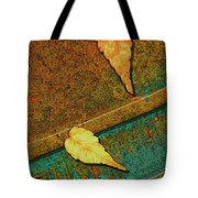 Two Leaves Or Not Two Leaves Tote Bag