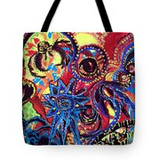 Elements Of Creation Tote Bag