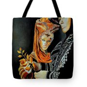 Two Masks In Venice  Tote Bag