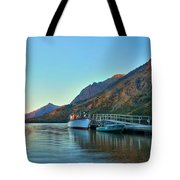 Two Medicine Boat Dock Tote Bag