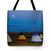 Two Medicine Teepees Tote Bag