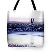 Two Men Went For A Walk Tote Bag