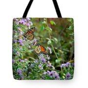 Two Monarchs Tote Bag