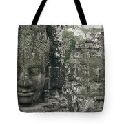 Two Monks In Orange Robes Stand Tote Bag