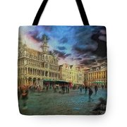 Two Nights In Brussels #21 Season's End Tote Bag