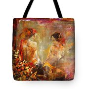 Two Nudes  Tote Bag
