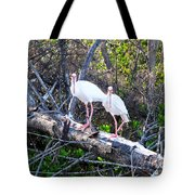 Two On A Tree Tote Bag