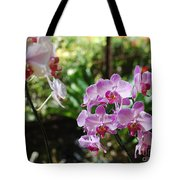 Two Orchid Branches Number One Tote Bag