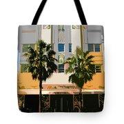 Two Palms Art Deco Building Tote Bag