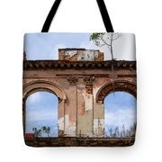 Two Picture Windows Tote Bag