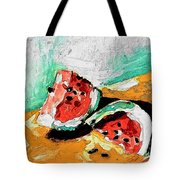Two Piece Watermelon  Tote Bag