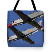 Two Pzl-130 Orlik Trainers Tote Bag