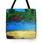 Two Rivers Tote Bag