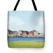 Two Rows Tote Bag