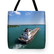 Two Ships Passing Tote Bag